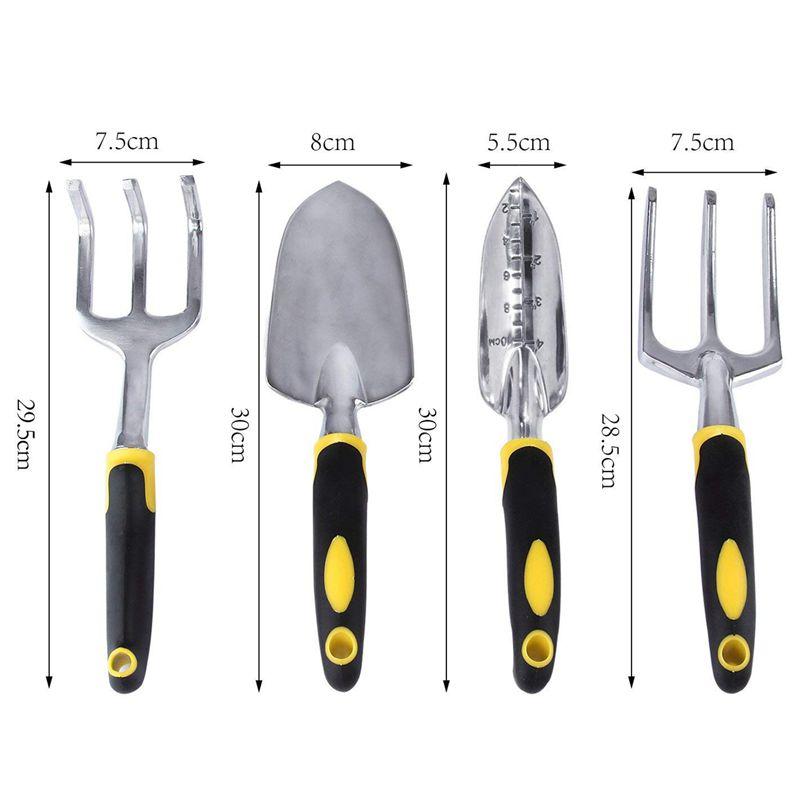 5X-4pzs-Juego-de-herramientas-de-jardin-Paleta-Tenedor-Trasplantadora-Culti-D2G8