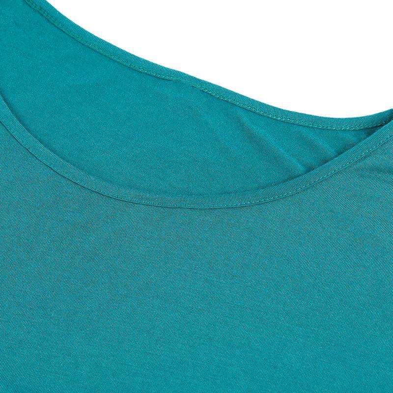 Camiseta-De-Manga-Corta-A-Rayas-Para-Mujer-Chaqueta-Informal-X1L9 miniatura 18