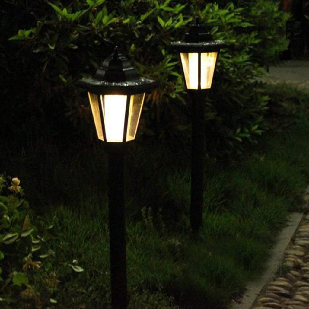 led lampadaire solaire lampe etanche exterieur pour chemin terrasse du jardin 46 ebay. Black Bedroom Furniture Sets. Home Design Ideas