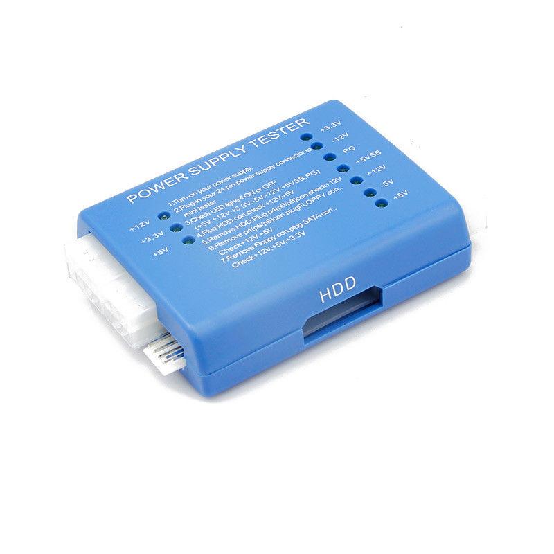 5x(pc 24 Pin PSU ATX SATA HD Power Supply Tester by English User\'s ...