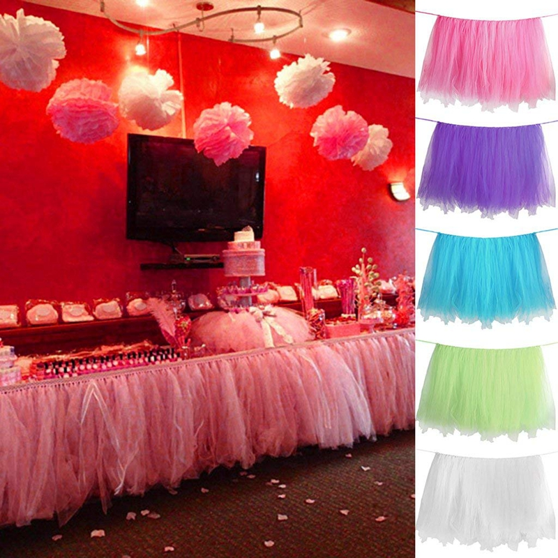 5X(Robe de bal de la nappe nappe nappe de tulle Robe de soiree en tulle rosado W4H8) 8952f4