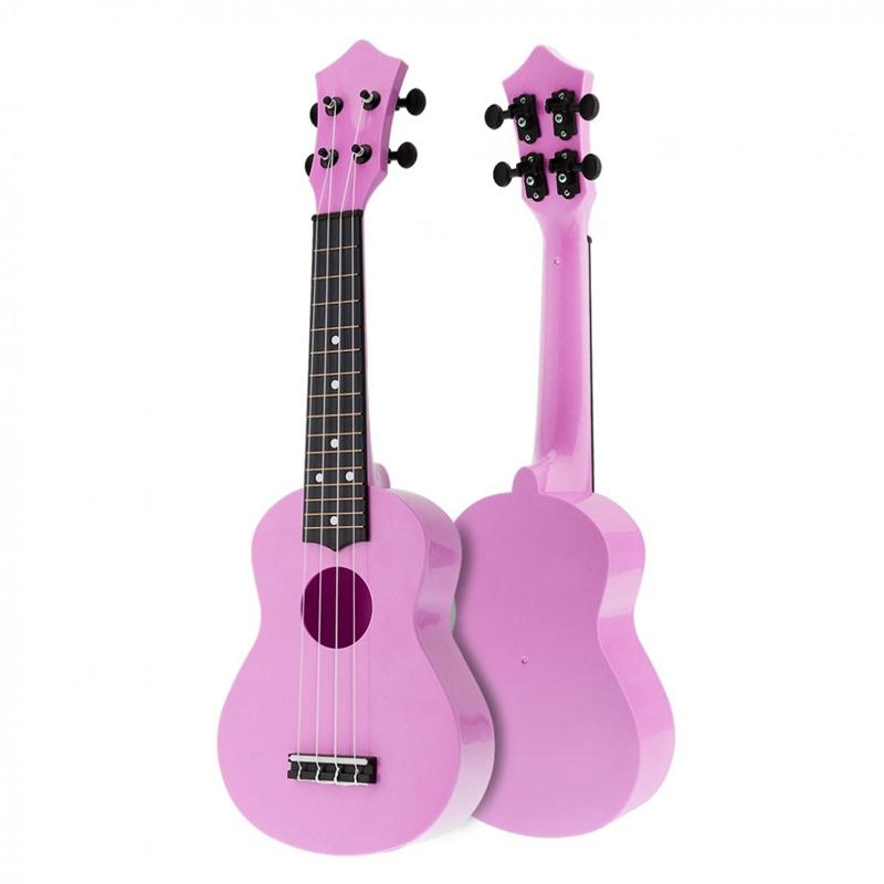 1X-21-pollici-Acoustic-Ukulele-Uke-4-corde-Hawaii-Chitarra-strumento-per-ba-J1N3 miniatura 3