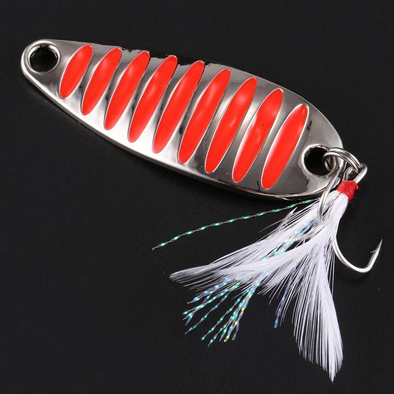 LUSHAZER-brand-Fishing-lure-spoon-fishing-bait-spoon-hard-lures-metal-lure-T3P8 thumbnail 4