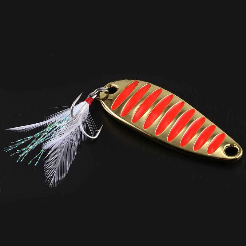 LUSHAZER-brand-Fishing-lure-spoon-fishing-bait-spoon-hard-lures-metal-lure-B1R5 thumbnail 11