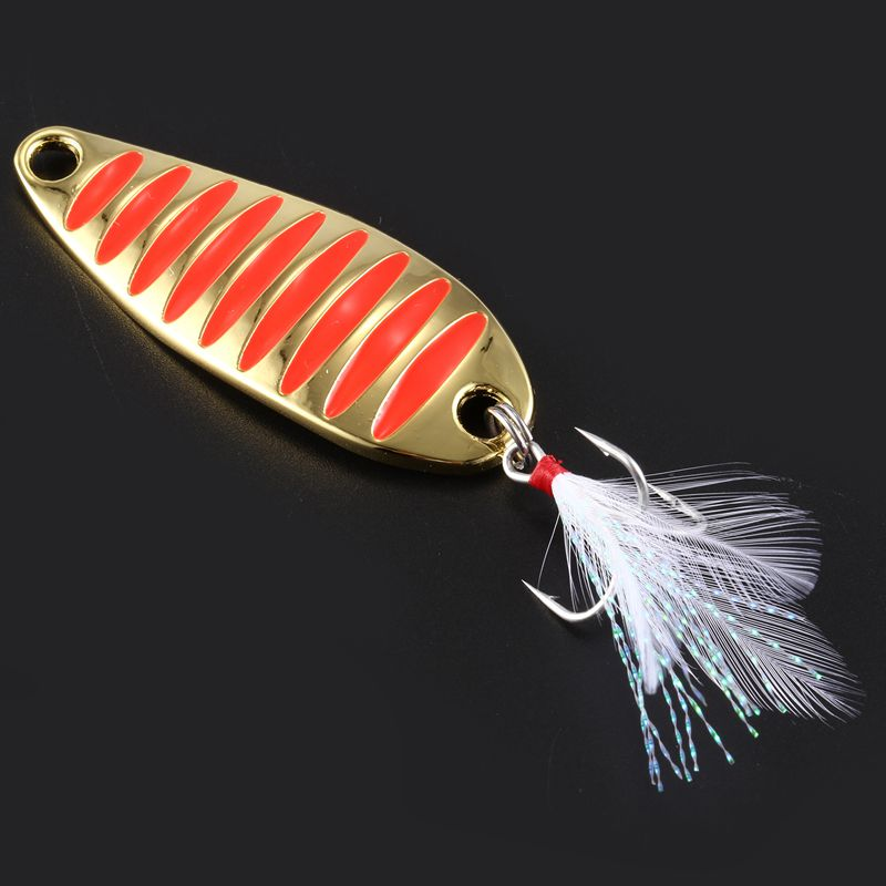 LUSHAZER-brand-Fishing-lure-spoon-fishing-bait-spoon-hard-lures-metal-lure-B1R5 thumbnail 12