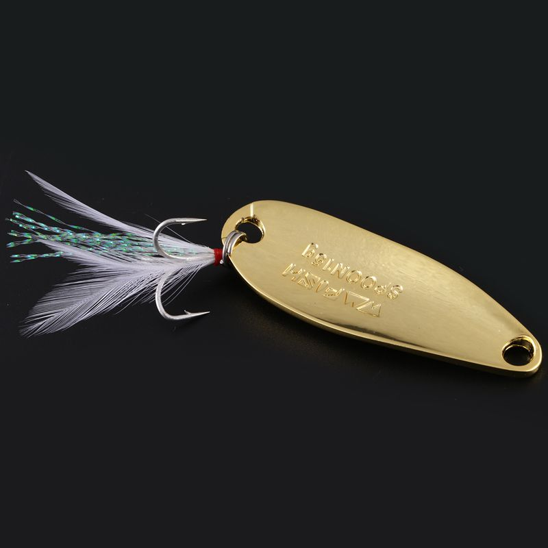 LUSHAZER-brand-Fishing-lure-spoon-fishing-bait-spoon-hard-lures-metal-lure-T3P8 thumbnail 15