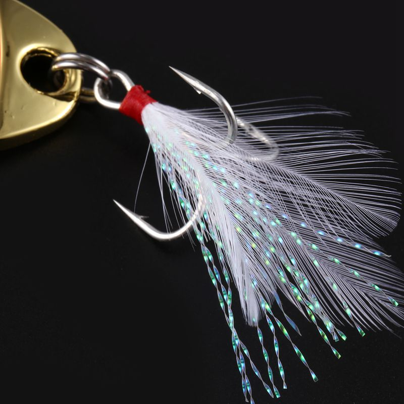 LUSHAZER-brand-Fishing-lure-spoon-fishing-bait-spoon-hard-lures-metal-lure-B1R5 thumbnail 17