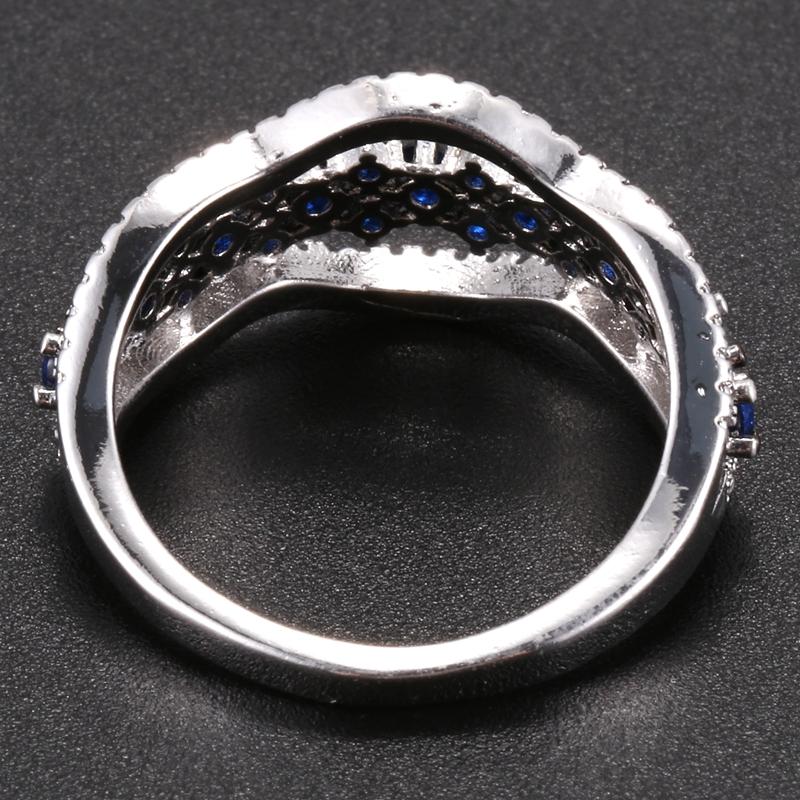 Anillo-exquisito-Joyas-de-diamante-de-zafiro-azul-hueco-Fiesta-de-compromis-S7O7 miniatura 10