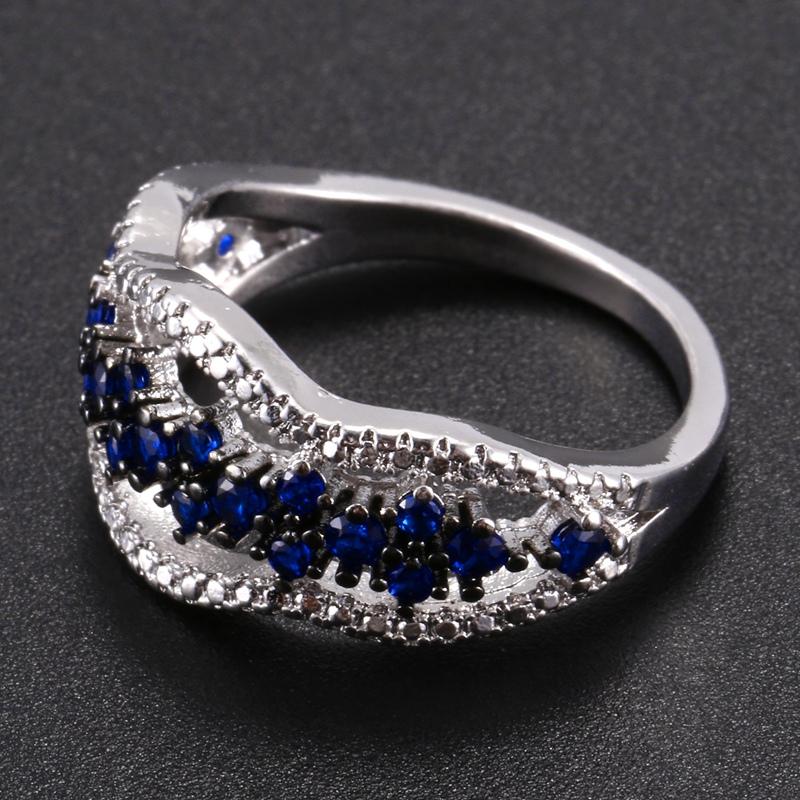 Anillo-exquisito-Joyas-de-diamante-de-zafiro-azul-hueco-Fiesta-de-compromis-S7O7 miniatura 18