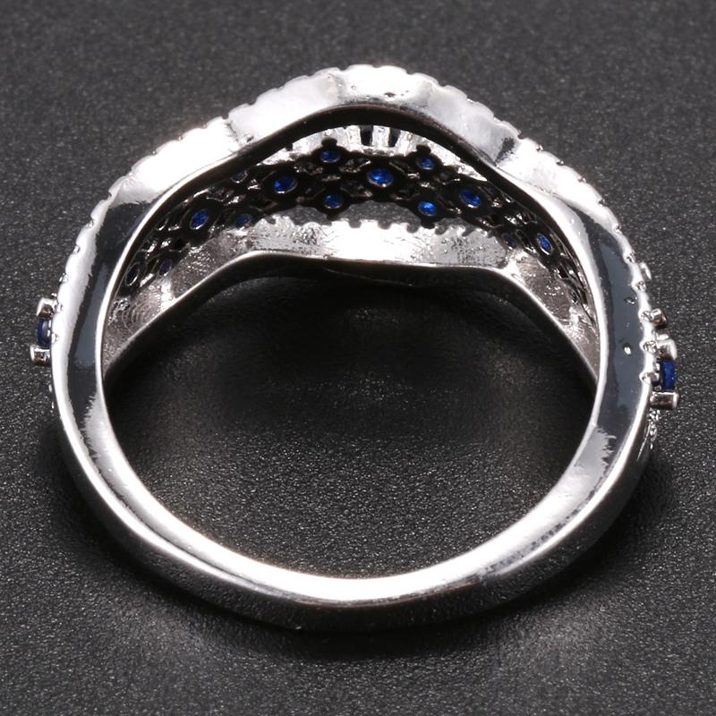 Anillo-exquisito-Joyas-de-diamante-de-zafiro-azul-hueco-Fiesta-de-compromis-S7O7 miniatura 20