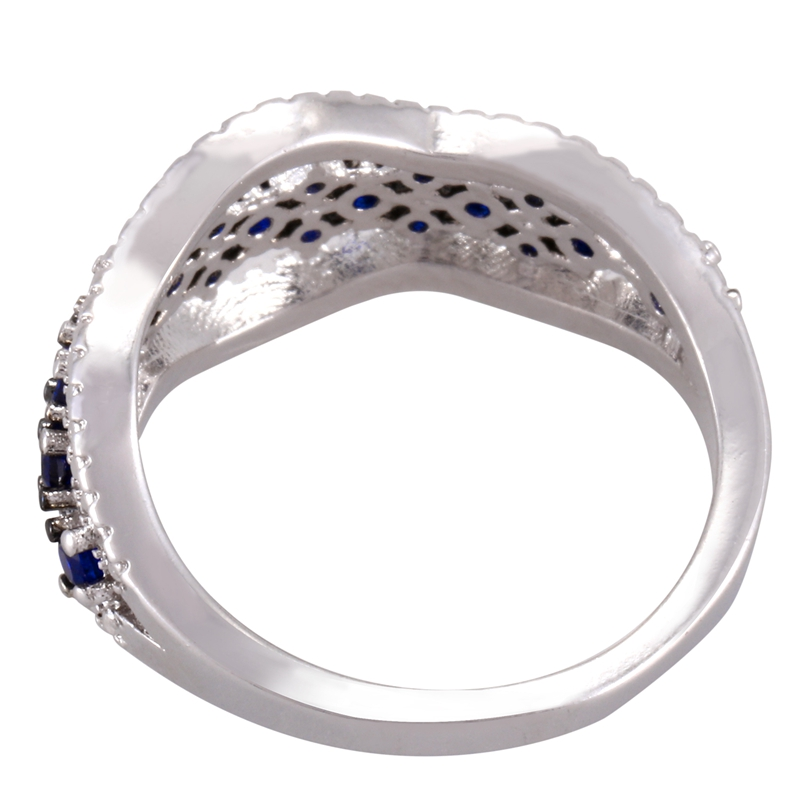Anillo-exquisito-Joyas-de-diamante-de-zafiro-azul-hueco-Fiesta-de-compromis-S7O7 miniatura 26