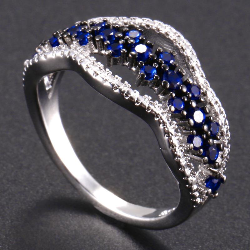 Anillo-exquisito-Joyas-de-diamante-de-zafiro-azul-hueco-Fiesta-de-compromis-S7O7 miniatura 31