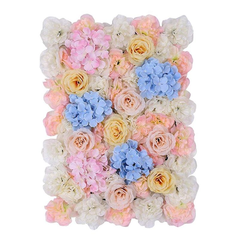 Kuenstliche Seiden Blume Wand Diy Hochzeit Hauptstrasse Dekoration