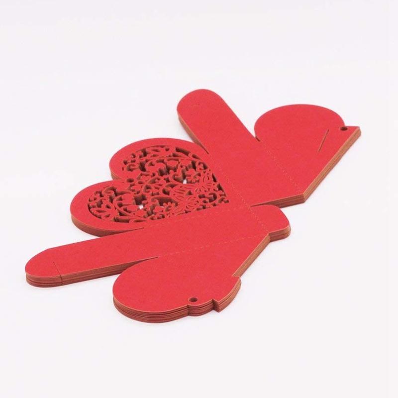 Lot-de-20-Boite-a-Dragees-Coeur-Bonbonniere-en-Papier-Boite-Cadeau-pour-Fet-H9R9 miniature 15