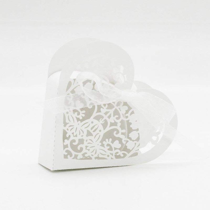 Lot-de-20-Boite-a-Dragees-Coeur-Bonbonniere-en-Papier-Boite-Cadeau-pour-Fet-H9R9 miniature 28