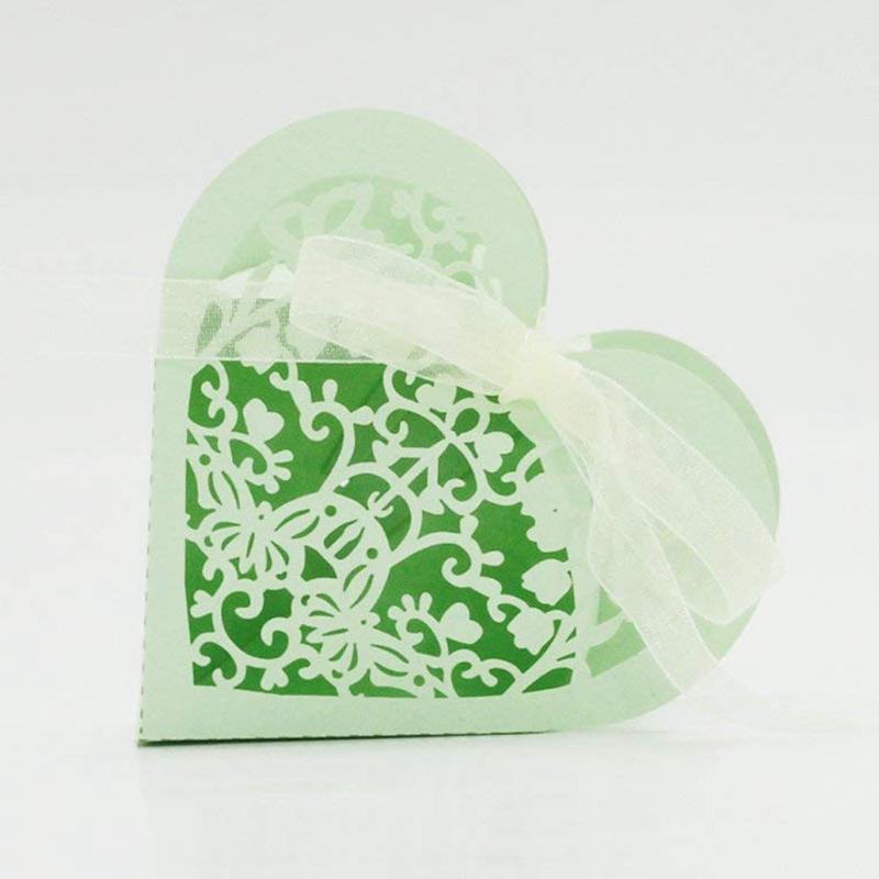 Lot-de-20-Boite-a-Dragees-Coeur-Bonbonniere-en-Papier-Boite-Cadeau-pour-Fet-H9R9 miniature 38