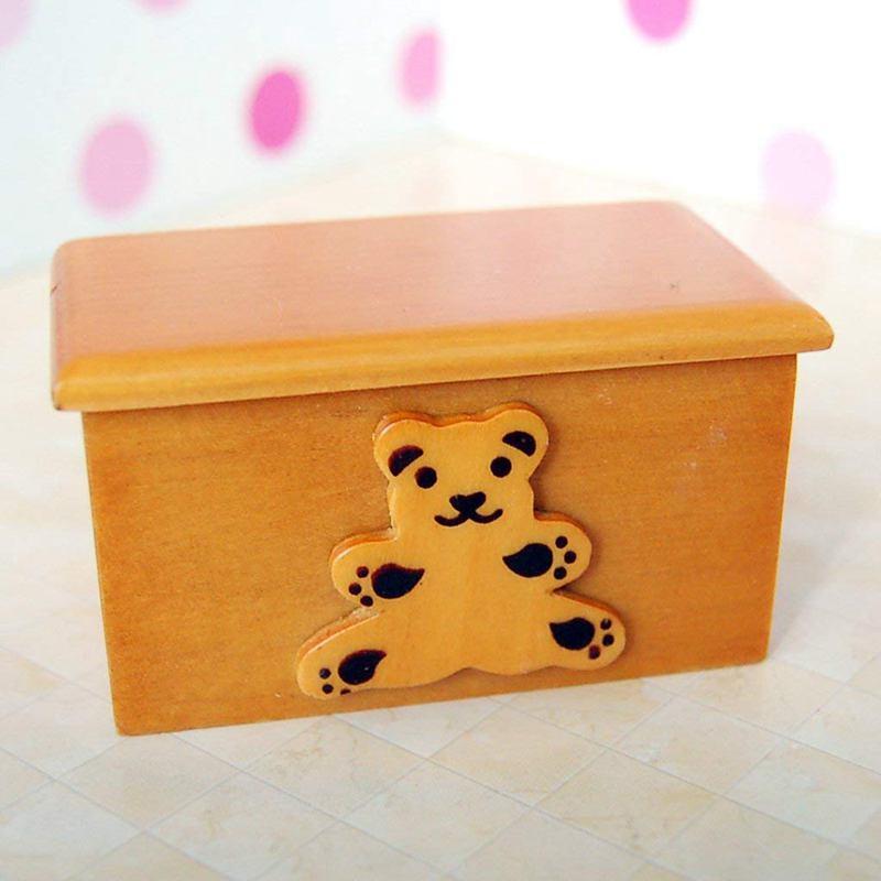 1/12 Puppenhaus Miniatur Moebel Fuer Kinder Holz
