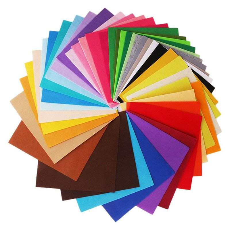 8x (40 x zufaellige couleur 30cmx30cm nappes en tissu pour Bricolage à faire soi-même naehen k1x7) j7