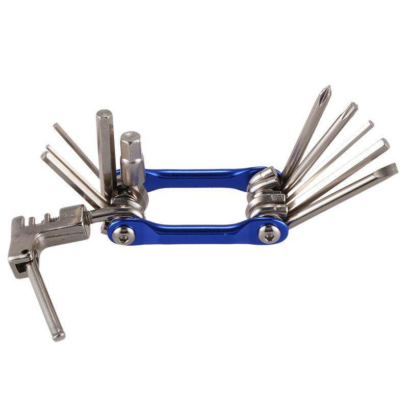 11-in-1-Mini-Fahrrad-Reparatur-Werkzeug-Set-Schraubendreher-Steckschluess-H2Q1 Indexbild 7
