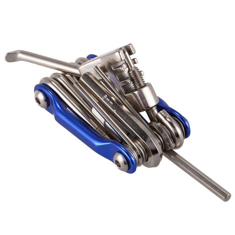 11-in-1-Mini-Fahrrad-Reparatur-Werkzeug-Set-Schraubendreher-Steckschluess-H2Q1 Indexbild 9