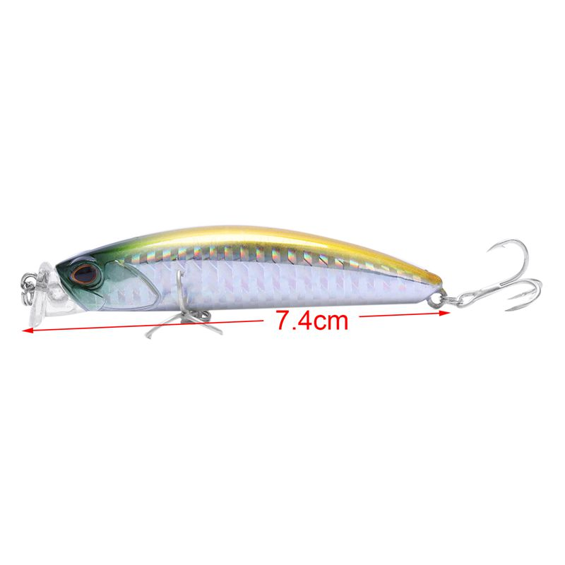 fishing-lures-minnow-crank-7-5cm-10-5g-magnet-system-new-model-crank-bait-U6Q8 thumbnail 29