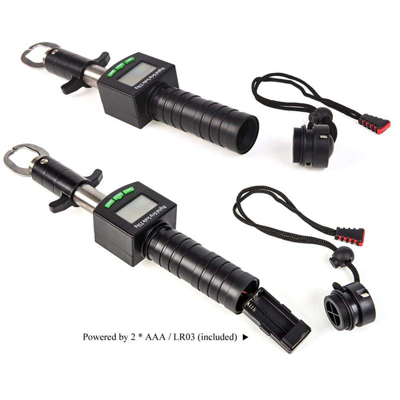 5X(Digitaler Fischgreifer 25Kg   55Lb Tragbarer elektronischer Fischlip-Gre L5W5 L5W5 L5W5 8cdd3a