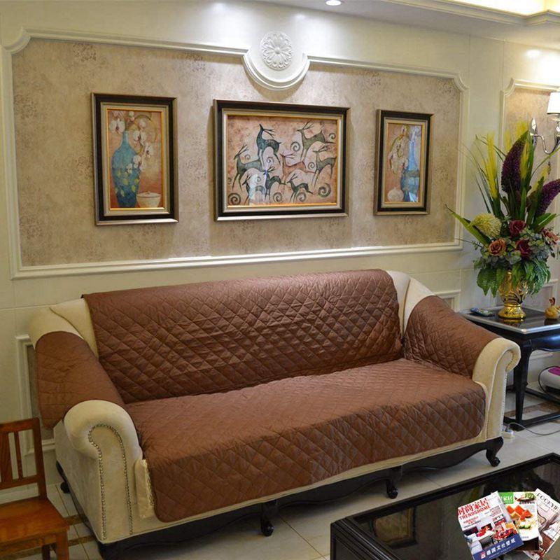 1X-Protection-Housse-de-Canape-3-Places-Sofa-Couverture-Impermeable-a-L-039-eau-G4D1 miniature 4