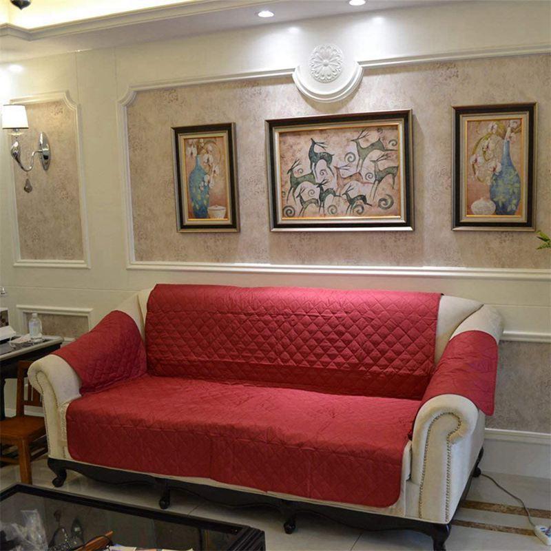 1X-Protection-Housse-de-Canape-3-Places-Sofa-Couverture-Impermeable-a-L-039-eau-G4D1 miniature 10