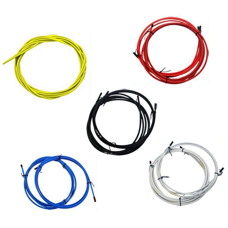 MOTSUV-Jeux-de-cables-de-velo-Kit-de-tuyau-de-cable-de-logement-Frein-a-levi-2T9 miniature 5