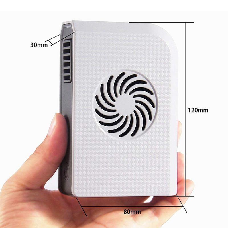 Ventilador-Personal-Pequeno-Con-6000-Mah-De-Potencia-Portatil-De-V6G1 miniatura 5