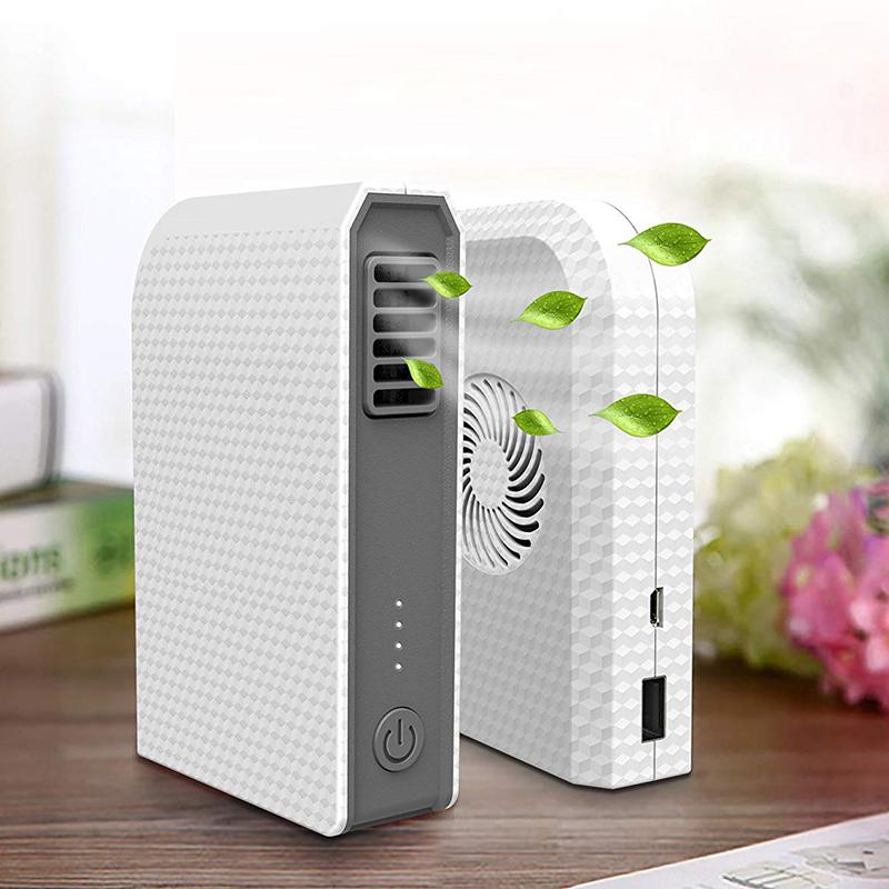 Ventilador-Personal-Pequeno-Con-6000-Mah-De-Potencia-Portatil-De-V6G1 miniatura 8