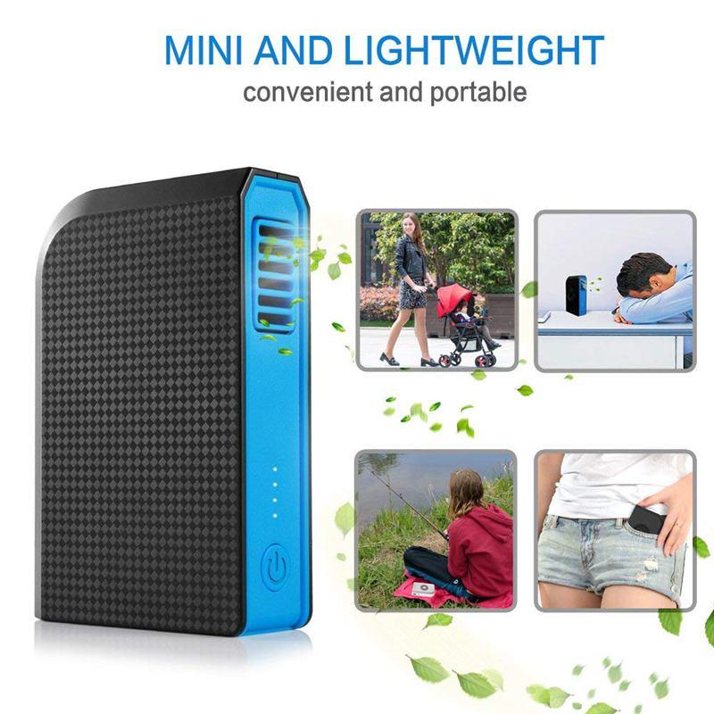 Ventilador-Personal-Pequeno-Con-6000-Mah-De-Potencia-Portatil-De-V6G1 miniatura 12