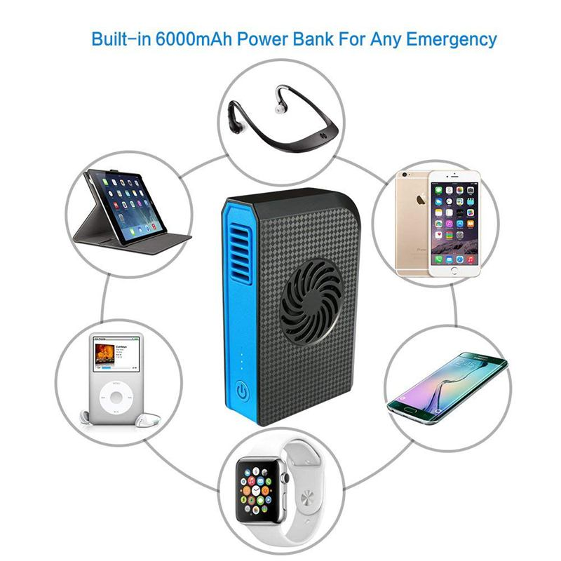 Ventilador-Personal-Pequeno-Con-6000-Mah-De-Potencia-Portatil-De-V6G1 miniatura 13