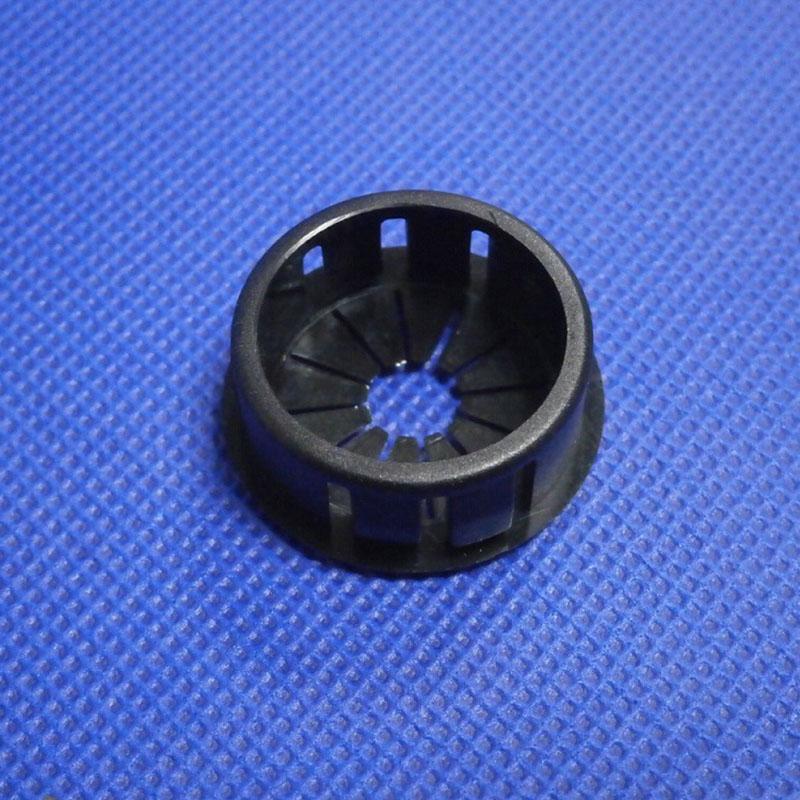 20Pcs 16mm Universal Black Plastic Cable Snap Locking Bushing Grommet I3J3
