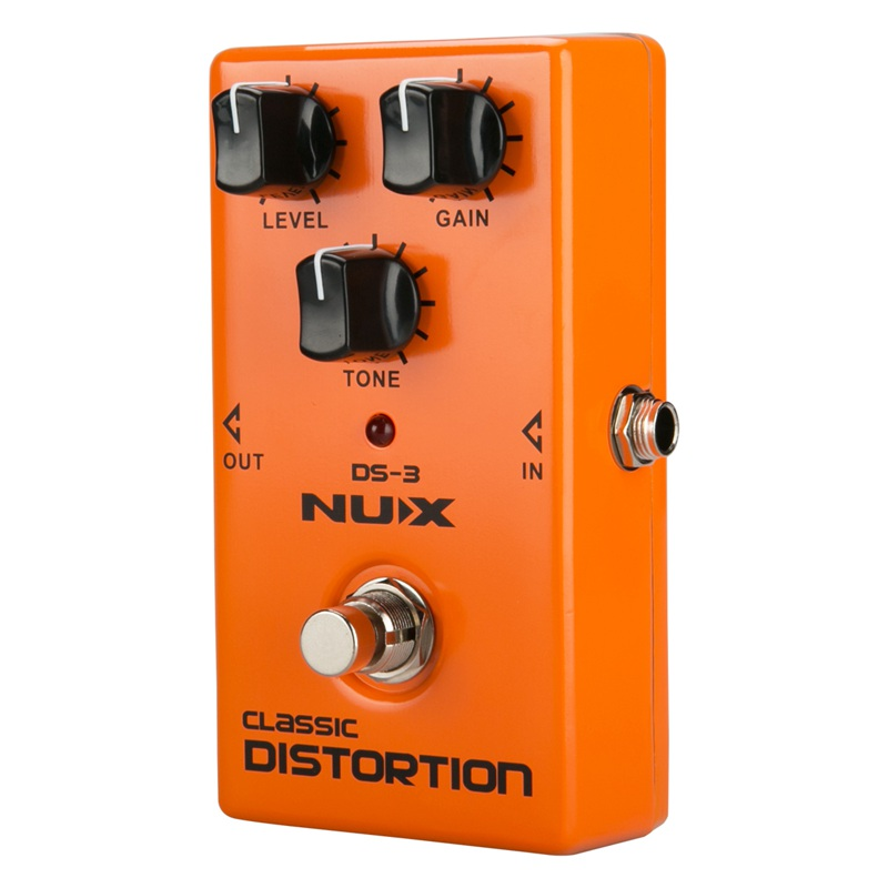 nux ds 3 distortion pedal analog guitar tube distortion effects pedal crunch m6 192948268793 ebay. Black Bedroom Furniture Sets. Home Design Ideas