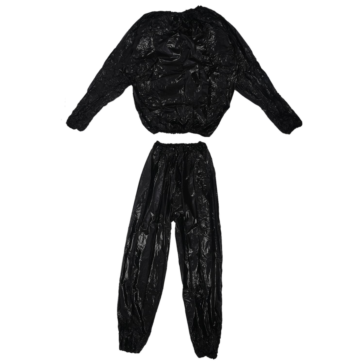 1X Heavy Duty Fitness Weight Loss Sweat Sauna Suit Exercise Gym Anti-Rip V7L W2E