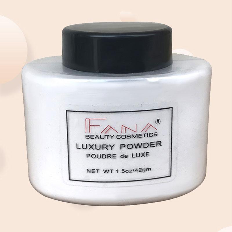 Fana-Poudre-de-luxe-Visage-banane-Poudre-lache-pour-le-maquillage-de-fille-de-Q1 miniature 3