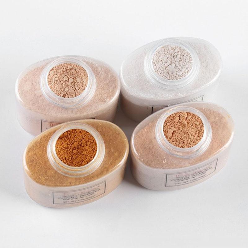 Fana-Poudre-de-luxe-Visage-banane-Poudre-lache-pour-le-maquillage-de-fille-de-Q1 miniature 6
