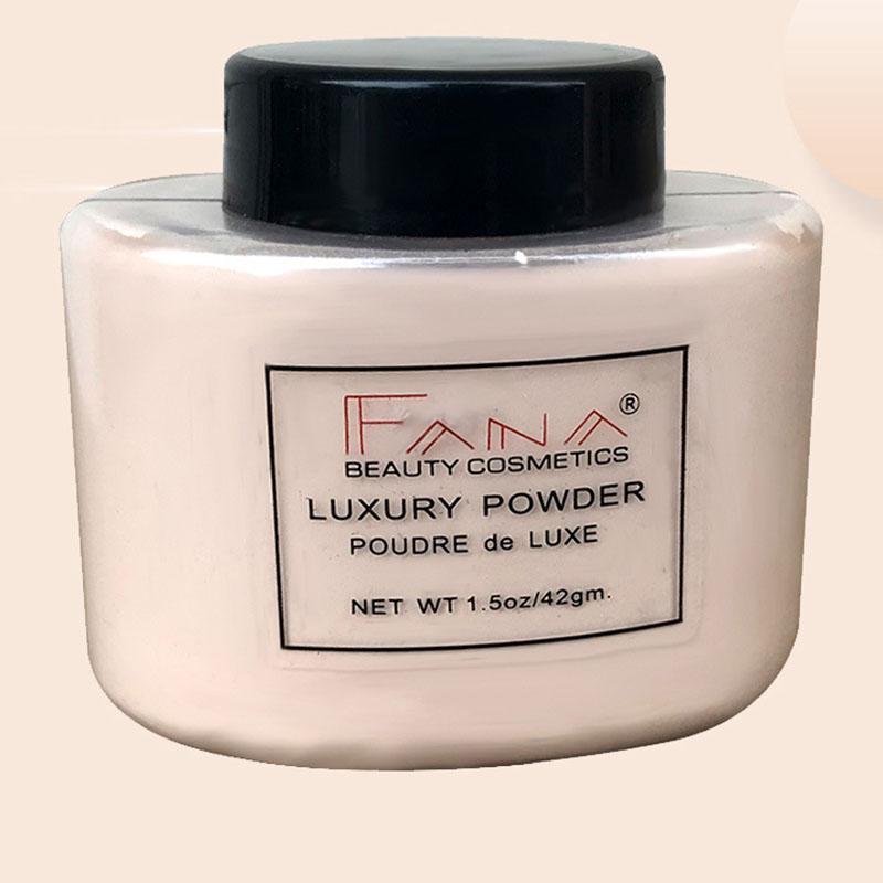 Fana-Poudre-de-luxe-Visage-banane-Poudre-lache-pour-le-maquillage-de-fille-de-Q1 miniature 10