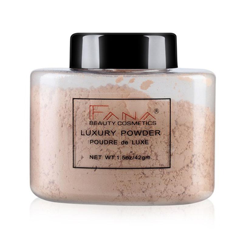 Fana-Poudre-de-luxe-Visage-banane-Poudre-lache-pour-le-maquillage-de-fille-de-Q1 miniature 17
