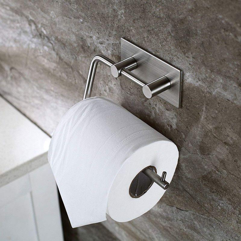 toilettenpapierhalter toilettenpapierhalterung ohne bohren. Black Bedroom Furniture Sets. Home Design Ideas