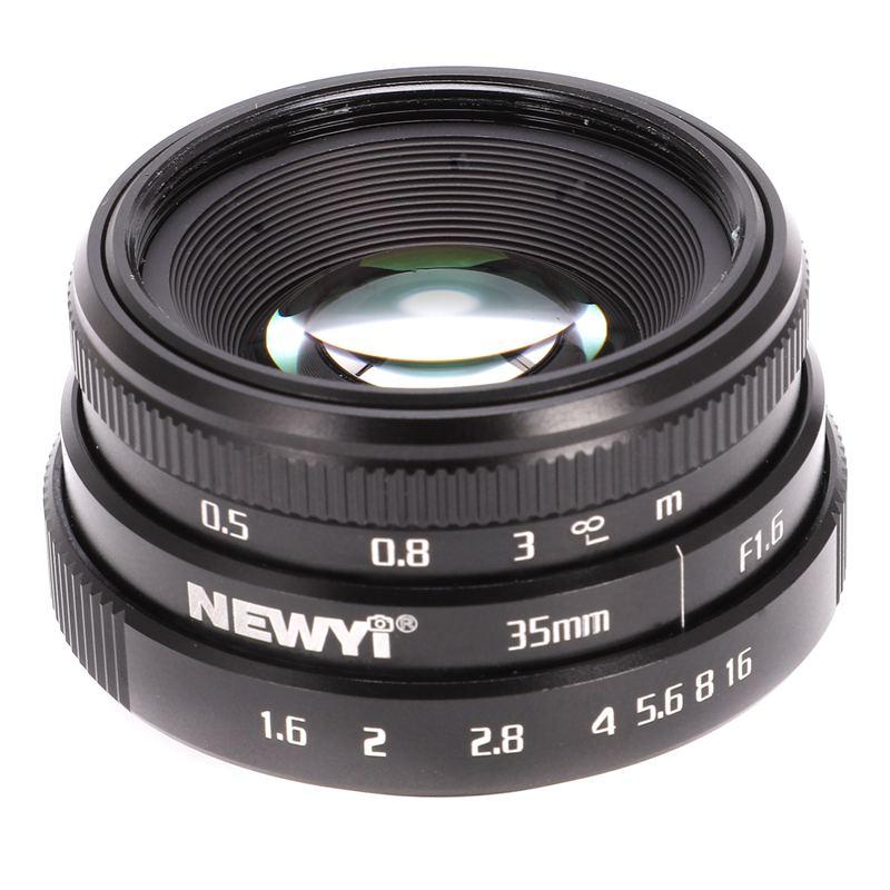 NEWYI-Mini-35mm-F1-6-APS-C-Television-TV-objectif-Objectif-CCTV-Pour-16mm-V1K9 miniature 5