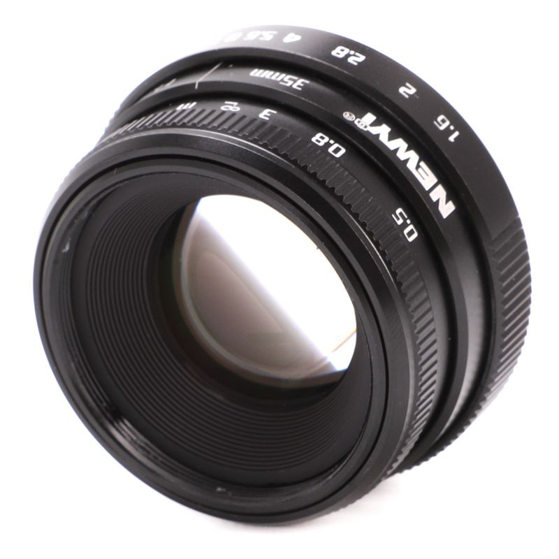 NEWYI-Mini-35mm-F1-6-APS-C-Television-TV-objectif-Objectif-CCTV-Pour-16mm-V1K9 miniature 7