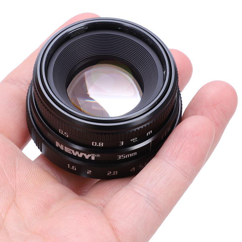 NEWYI-Mini-35mm-F1-6-APS-C-Television-TV-objectif-Objectif-CCTV-Pour-16mm-V1K9 miniature 8