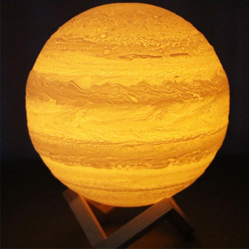 Luz-De-Noche-Jupiter-Interruptor-De-Toque-Magico-Led-Usb-3D-con-Soporte-Mag-G9G6 miniatura 4