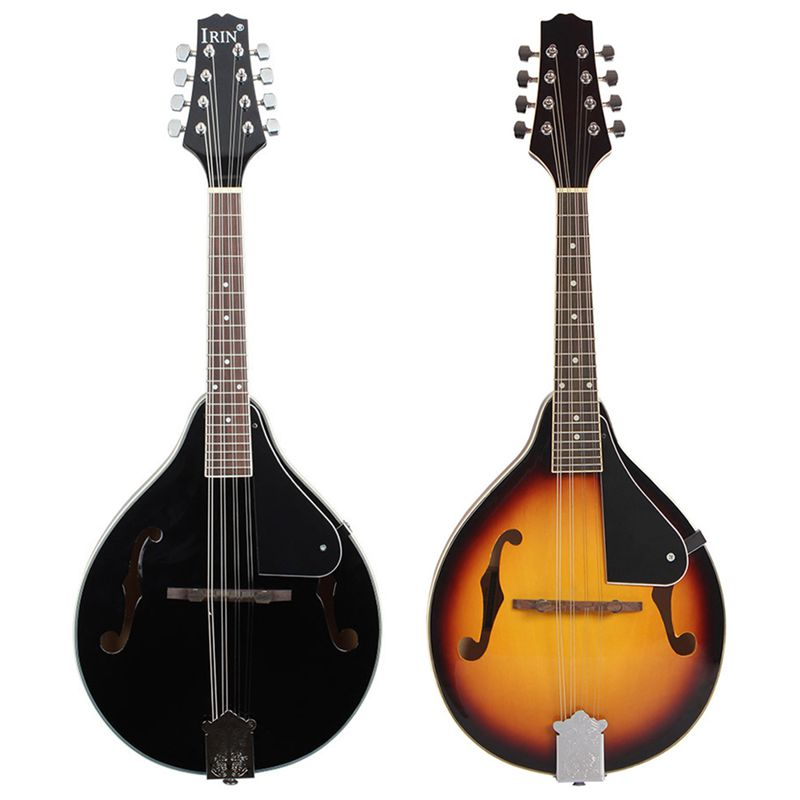 IRIN 8-String Basswood Mandoline Musikinstrument mit Palisander Stahlsaite  P8Y1