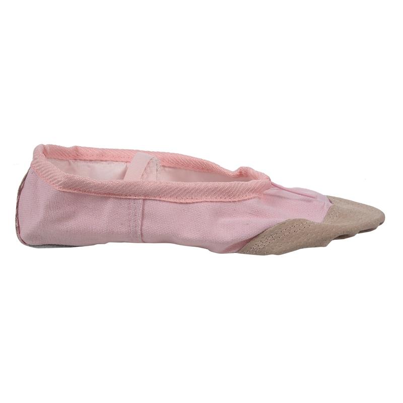 1-Pair-of-Leather-Canvas-Adult-Ballet-Dance-Shoes-Practice-Ballet-Dance-s-C7U8 thumbnail 13
