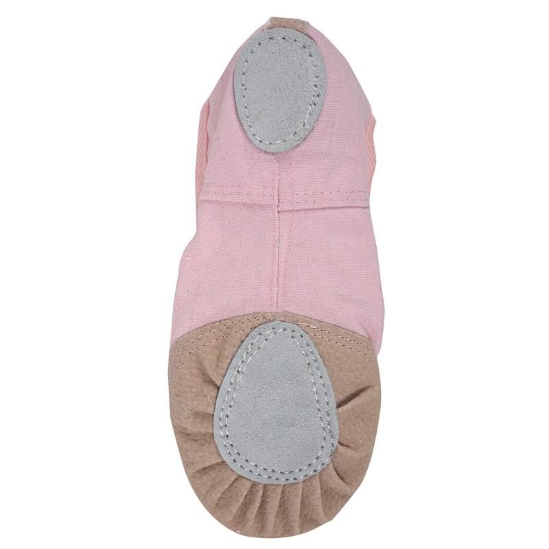 1-Pair-of-Leather-Canvas-Adult-Ballet-Dance-Shoes-Practice-Ballet-Dance-s-C7U8 thumbnail 15