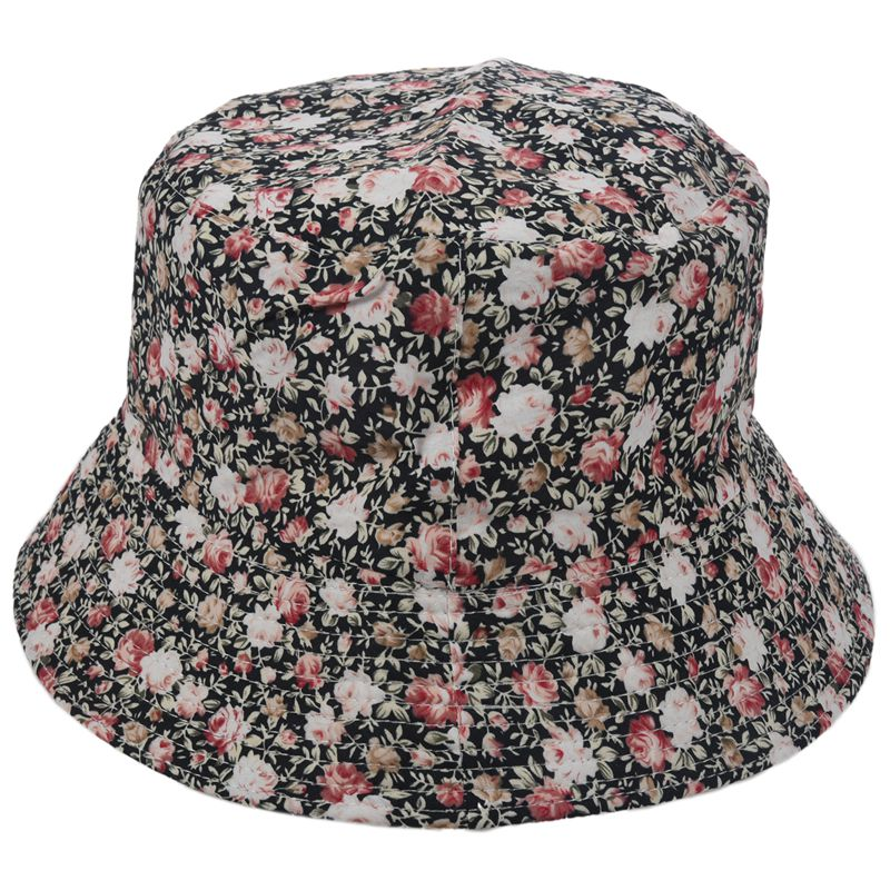 71edc784fe5 Women Men Bucket Hat Boonie Hat Hunting Fishing Outdoor Cap Floral Summer S  H4G8. This Style is Unique And Pretty !It is Beautiful And Fashion!