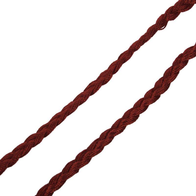 Woven-Pompon-Ceinture-Noeud-Decore-Taille-Chaine-Taille-Corde-P5N3 miniature 17